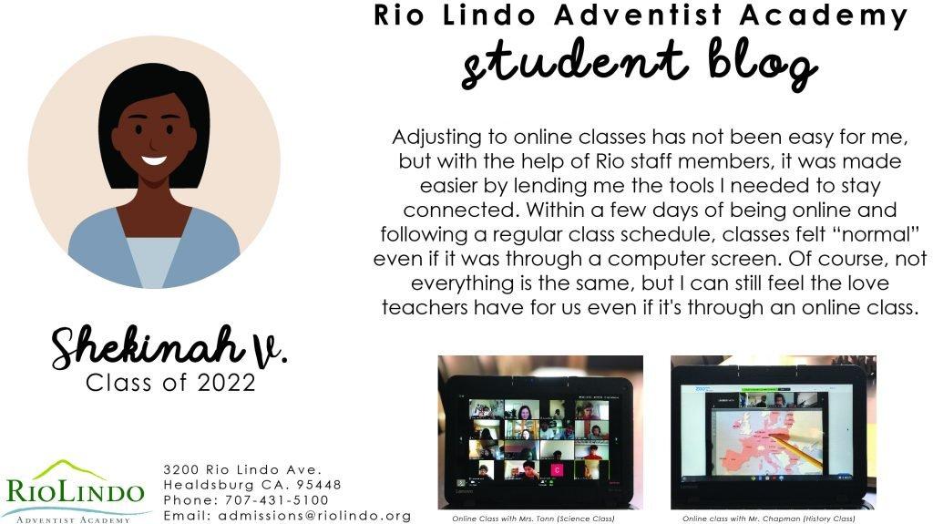 Student Blog Post