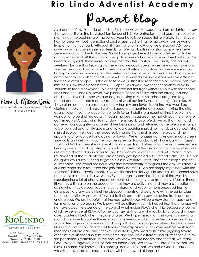 Rio Parent Blog