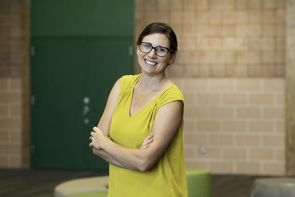 Rika Meyer, Vice Principal for Marketing, Enrollment and Development